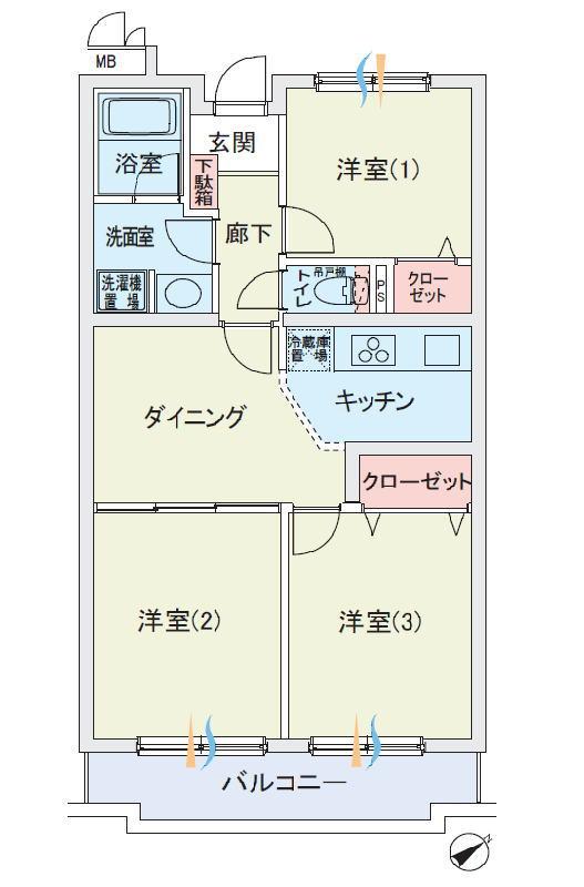 キャッスルメジェール西みずほ台弐番館